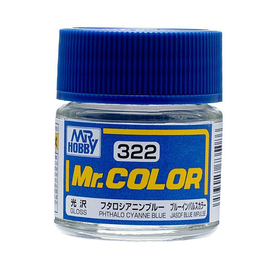 MR.COLOR 322 PHTHALO CYANNE BLUE (GLOSS)10ML