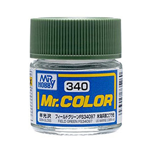 MR.COLOR 340 FIELD GREEN FS34097 (SEMI GLOSS)10ML