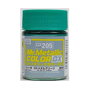 MR.COLOR GX205 GX METAL GREEN (METALLIC) 18ML