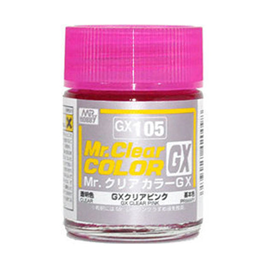 MR.COLOR GX105 GX CLEAR PINK (CLEAR) 18ML