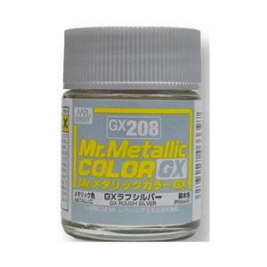 MR.COLOR GX208 GX ROUGH SILVER (METALLIC) 18ML