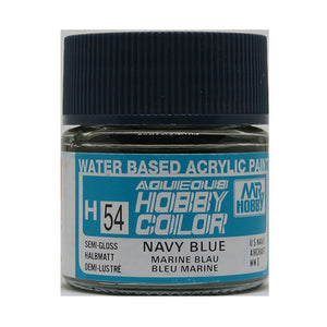 MR. HOBBY AQUEOUS COLOR H-054 (SEMI GLOSS NAVY BLUE) 10ML