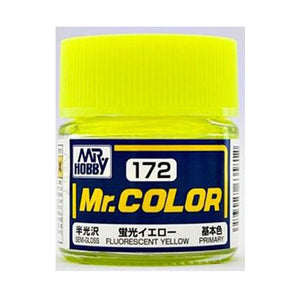MR.COLOR 172 FLUORESCENT YELLOW (FLAT) 10ML