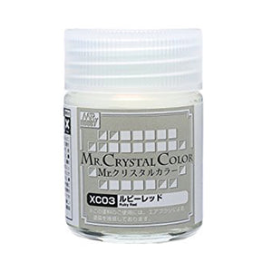 MR. CRYSTAL COLOR XC03 RUBY RED 18ml