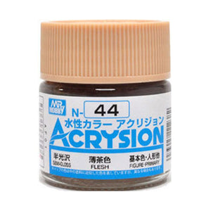 MR. HOBBY ACRYSION WATER BASED COLOR N-44 (SEMI GLOSS FRESH) 10ml