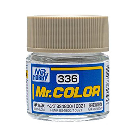 MR.COLOR 336 HEMP BS4800/10B21 (SEMI GLOSS)10ML