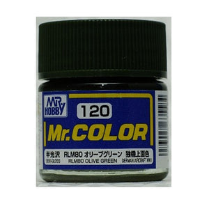 MR.COLOR 120 RLM80 OLIVE GREEN (SEMI GLOSS) 10ML