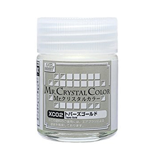 MR. CRYSTAL COLOR XC02 TOPAZ GOLD 18ml