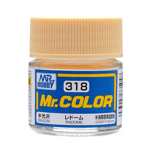 MR.COLOR 318 RADOME (SEMI GLOSS)10ML