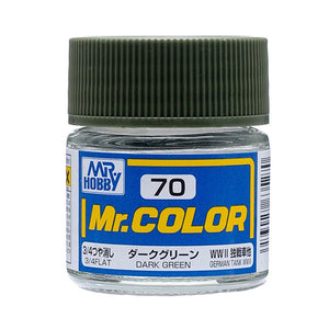 MR.COLOR 070 DARK GREEN (FLAT) 10ML