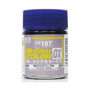 MR.COLOR GX107 GX CLEAR PURPLE (CLEAR) 18ML