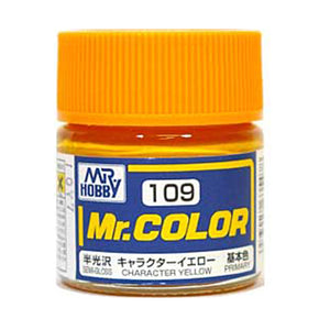 MR.COLOR 109 CHARACTER YELLOW (SEMI GLOSS) 10ML