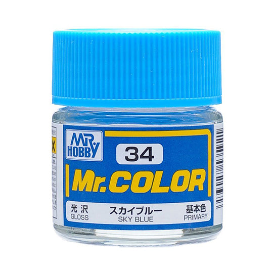 MR.COLOR 034 SKY BLUE (GLOSS) 10ML