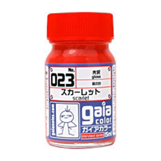 GAIA PAINT 023 SCARLET RED 15ml