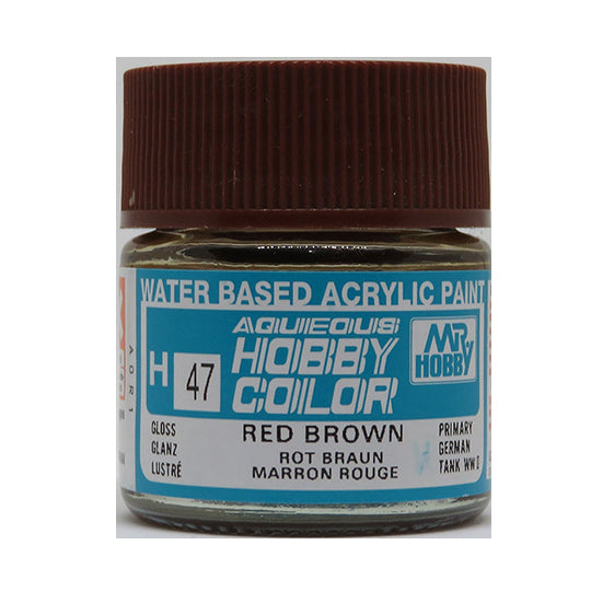 MR. HOBBY AQUEOUS COLOR H-047 (GLOSS RED BOWND) 10ML