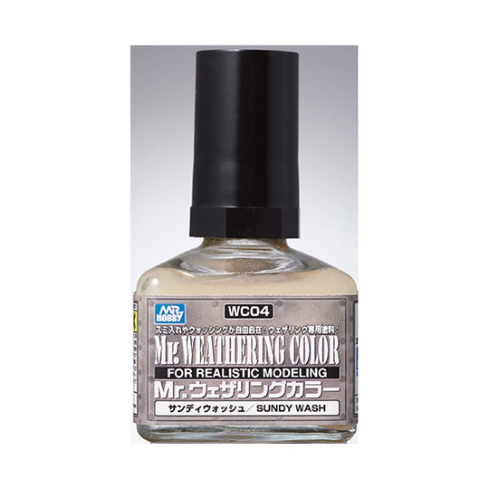MR. WEATHERING COLOR WC04 SUNDY WASH 40ML