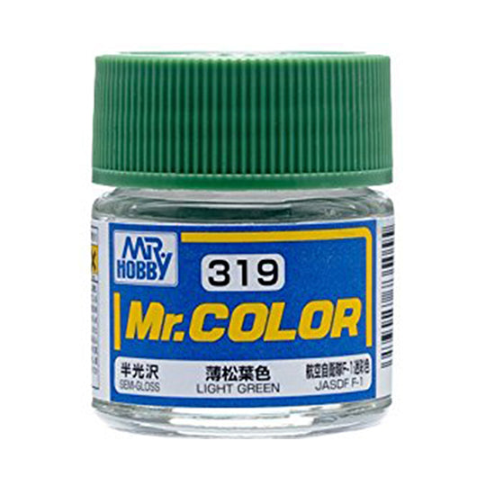 MR.COLOR 319 LIGHT GREEN (SEMI GLOSS)10ML