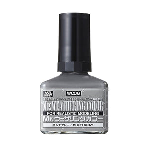 MR. WEATHERING COLOR WC06 MULTI GRAY 40ML