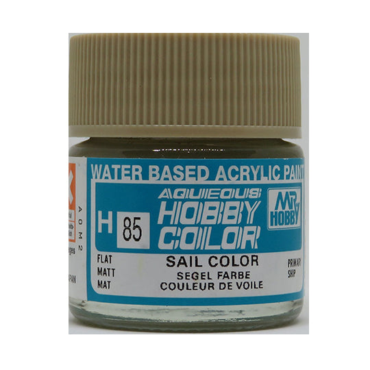 MR. HOBBY AQUEOUS COLOR H-085 【FLAT SAIL COLOR】 10ML