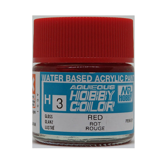 MR. HOBBY AQUEOUS COLOR H-003 (GLOSS RED) 10ML