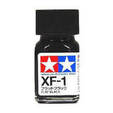 ENAMEL PAINT XF-1 FLAT BLACK 10ML