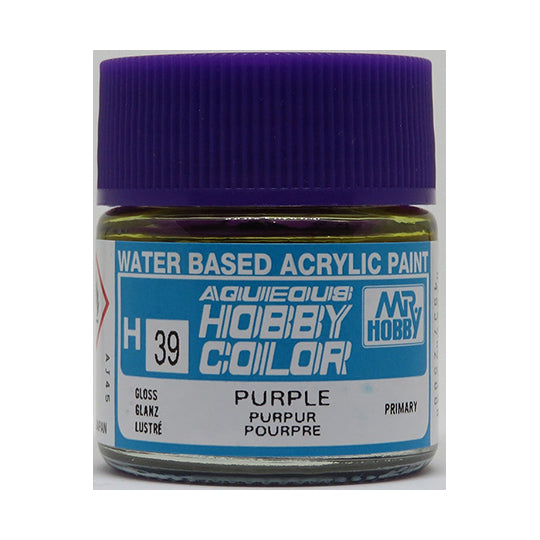 MR. HOBBY AQUEOUS COLOR H-039 (GLOSS PURPLE) 10ML