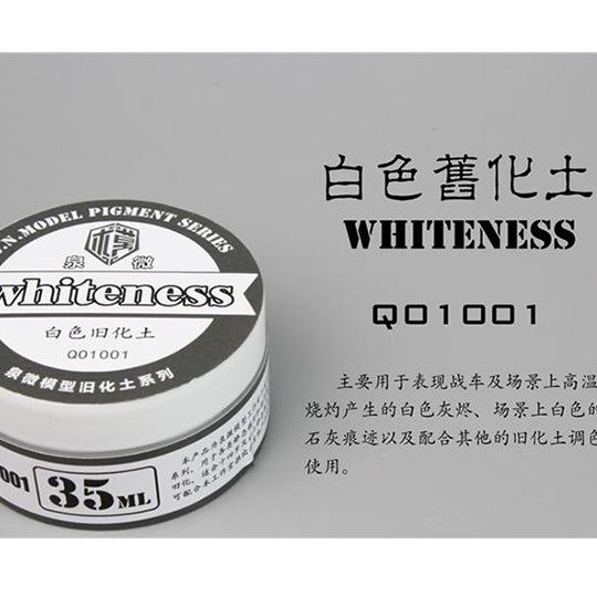 GUNDAM WEATHERING TOOLS WHITENESS 35ML