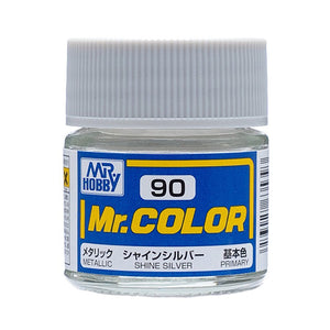 MR.COLOR 090 SHINE SILVER (METALLIC) 10ML