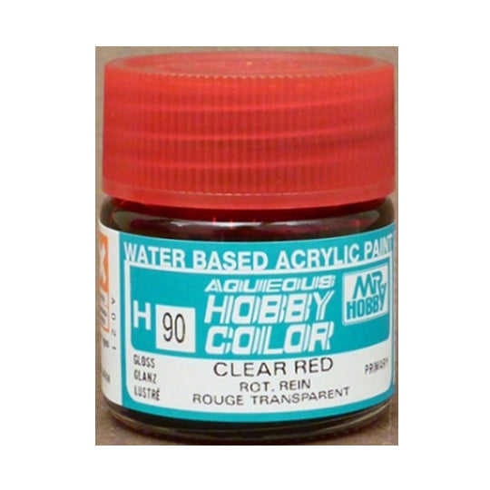 MR. HOBBY AQUEOUS COLOR H-090 (GLOSS CLEAR RED) 10ML