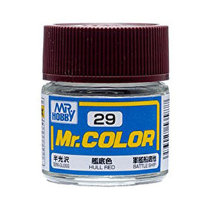 MR.COLOR 029 HULL RED (SEMI GLOSS) 10ML