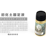 GUNDAM WEATHERING TOOLS PIGMENT FIXER 40ML