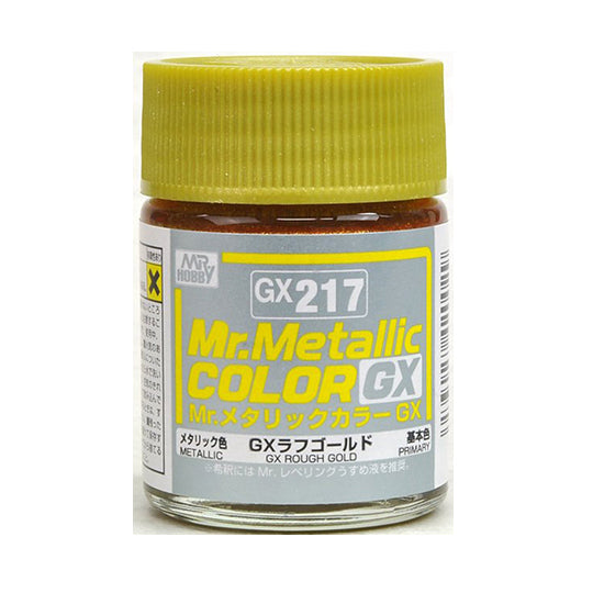 MR.COLOR GX217 GX ROUGH GOLD (METALLIC) 18ML
