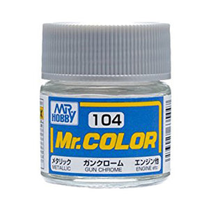 MR.COLOR 104 GUN CHROME (METALLIC) 10ML
