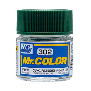 MR.COLOR 302 GREEN FS34092 (SEMI GLOSS)10ML