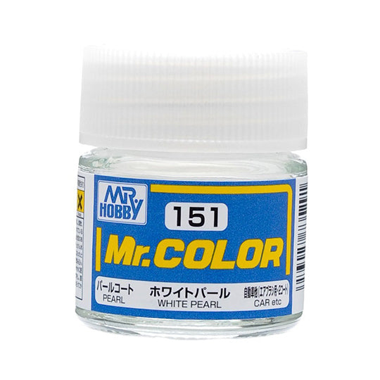 MR.COLOR 151 WHITE PEARAL (PEARL) 10ML