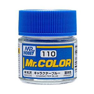 MR.COLOR 110 CHARACTER BLUE (SEMI GLOSS) 10ML
