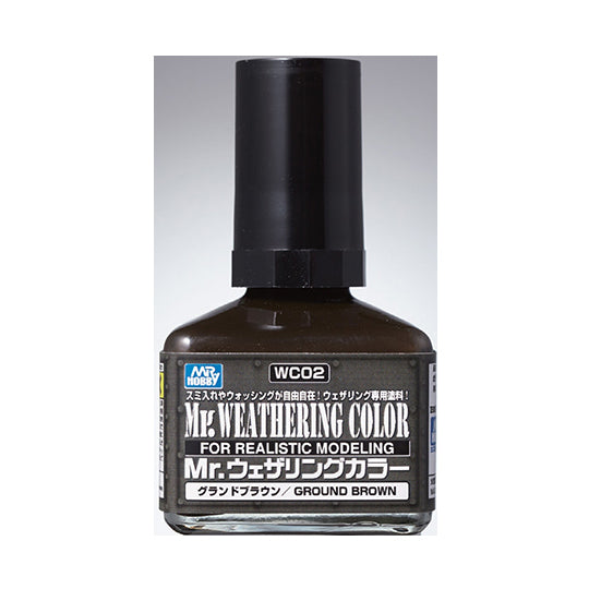 MR. WEATHERING COLOR WC02 GROUND BROWN 40ML