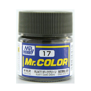 MR.COLOR 017 RLM71 DARK GREEN 10ML