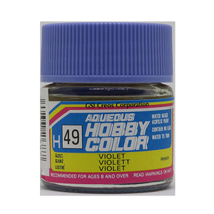 MR. HOBBY AQUEOUS COLOR H-049 (GLOSS VIOLET) 10ML