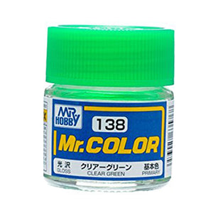 MR.COLOR 138 CLEAR GREEN (GLOSS) 10ML