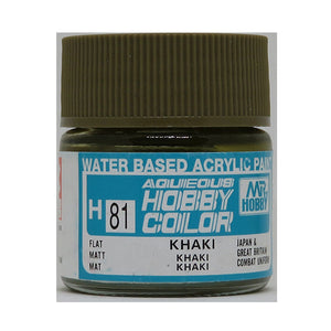 MR. HOBBY AQUEOUS COLOR H-081 (FLAT KHAKI) 10ML
