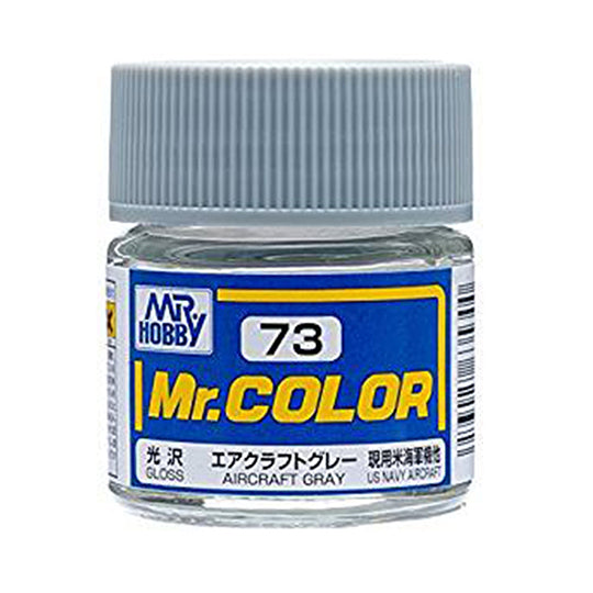 MR.COLOR 073 AIRCRAFT GRAY (GLOSS) 10ML