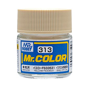 MR.COLOR 313 YELLOW FS33531 (SEMI GLOSS)10ML