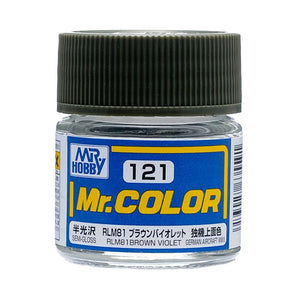 MR.COLOR 121 RLM81 BROWN VIOLET (SEMI GLOSS) 10ML
