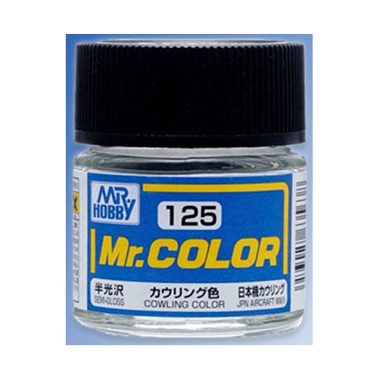 MR.COLOR 125 COWLING COLOR (SEMI GLOSS) 10ML