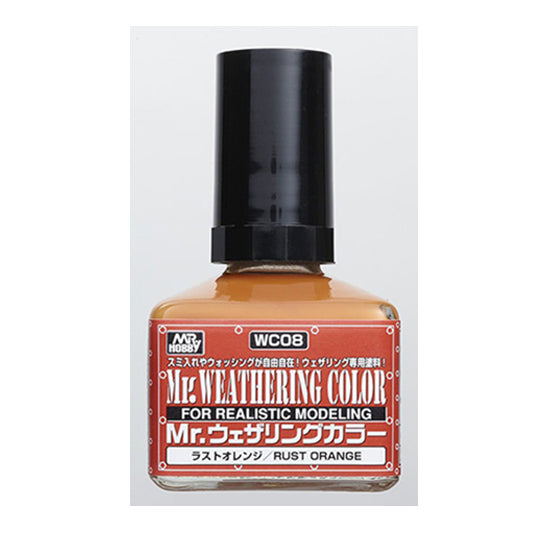 MR. WEATHERING COLOR WC08 RUST ORANGE 40ML