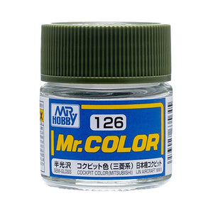 MR.COLOR 126 COCKPIT COLOR MITSUBISHI (SEMI GLOSS) 10ML