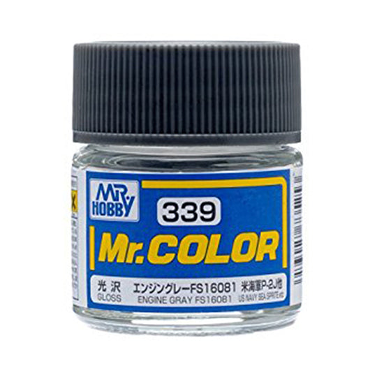 MR.COLOR 339 ENGINE GRAY FS16081 (SEMI GLOSS)10ML