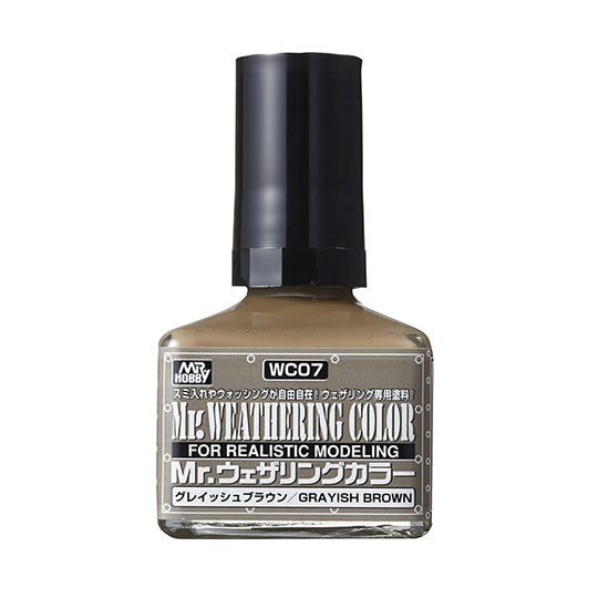 MR. WEATHERING COLOR WC07 GRAYISH BROWN 40ML
