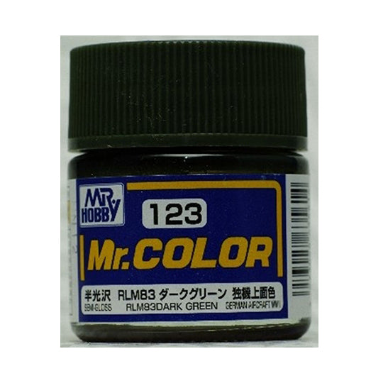MR.COLOR 123 RLM83 DARK GREEN (SEMI GLOSS) 10ML